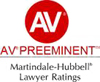 Martindale Hubbell - AV rated law firm