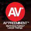 Martindale Hubbell - AV rated attorney